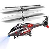 Basic 2 Canaux Bleu Jouet Indoor Hélicoptère pour Débutant jeunes//Petit enfant 10 m